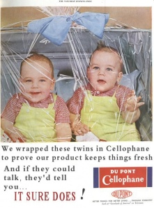 Guaranteed to keep your kids quite so quick you won't believe it! So, i don't know how this ever made it beyond the what-the-hell-were-you-thinking stage, but this one is truly wrong on so many levels.  Like, what purpose did babies wrapped in plastic serve, exactly?  What kind of psycho was this aimed at?